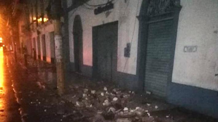 Heridos, viviendas colapsadas y carreteras bloqueadas: Las consecuencias del fuerte sismo que afectó a Perú y Colombia