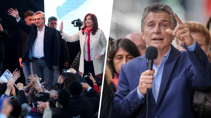 Sondeos: La fórmula Fernández-Fernández ganaría en primera vuelta a Macri por una diferencia de más de 10 puntos