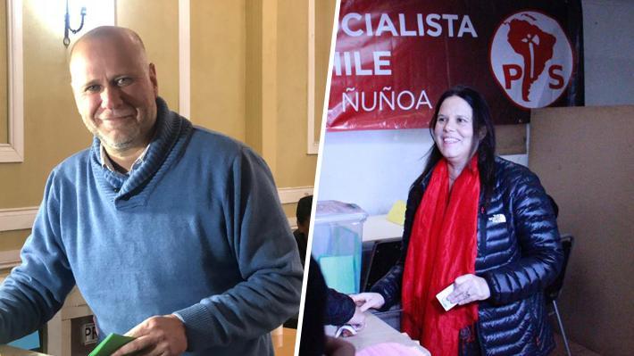 Maya Fernández y Álvaro Elizalde apelan a la unidad del PS tras votar en las elecciones internas