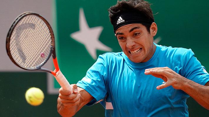 Tremendo Garin: Gana en sets corridos en su debut en Roland Garros y consigue su primer triunfo en un Grand Slam