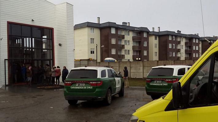 Estudiante fue baleado por compañero enmascarado en medio de una clase en colegio de Puerto Montt