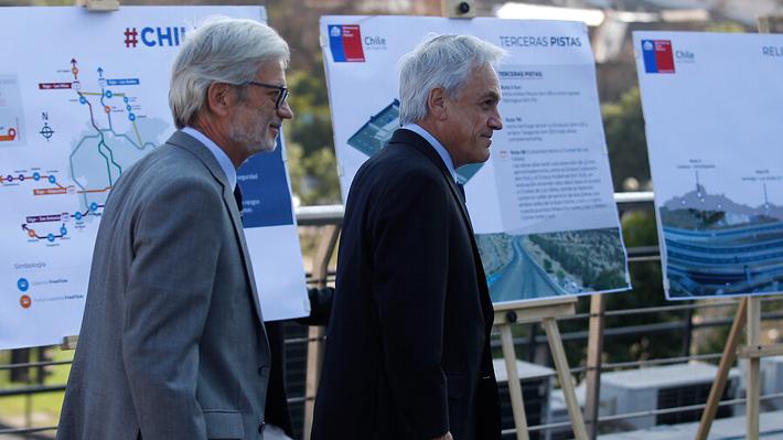 """Piñera anuncia que buscarán acuerdo con empresas para reducir reajustes de peajes y dar """"un alivio al bolsillo"""" a usuarios"""
