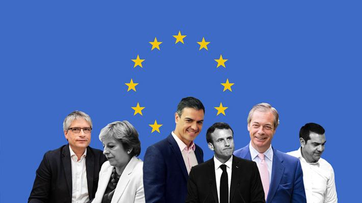 Entre la centroderecha, los euroescépticos y los Verdes: Los ganadores y perdedores de las elecciones europeas