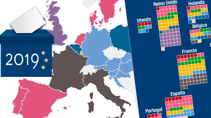 Cómo se repartieron los escaños del Parlamento europeo y quién ganó en cada país