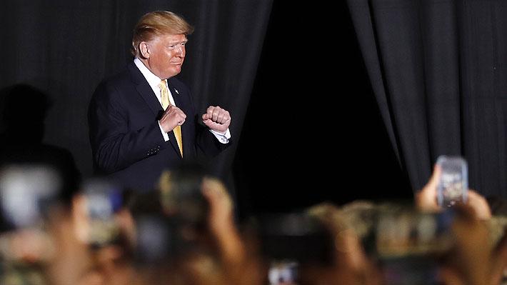 """Presidente Trump reafirma la potencia militar """"temible"""" de EE.UU. frente a China"""