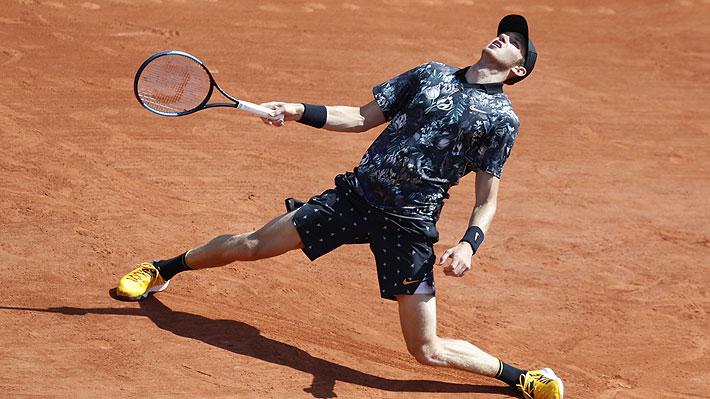 En primera ronda: Jarry pierde en su debut en Roland Garros contra Del Potro
