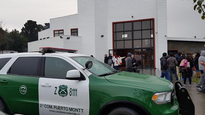 Pericias al arma usada por estudiante en Puerto Montt revelan que se habría trabado el gatillo