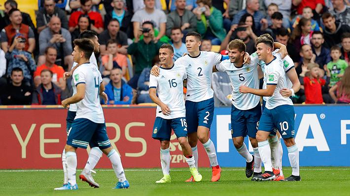 Argentina gana y se une a Uruguay como los equipos sudamericanos clasificados a octavos del Mundial Sub 20