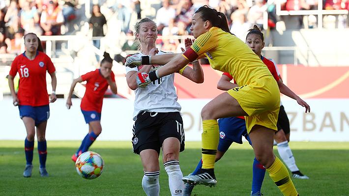 """La """"Roja"""" femenina cayó con Alemania en el último amistoso previo a su debut en el Mundial de Francia"""