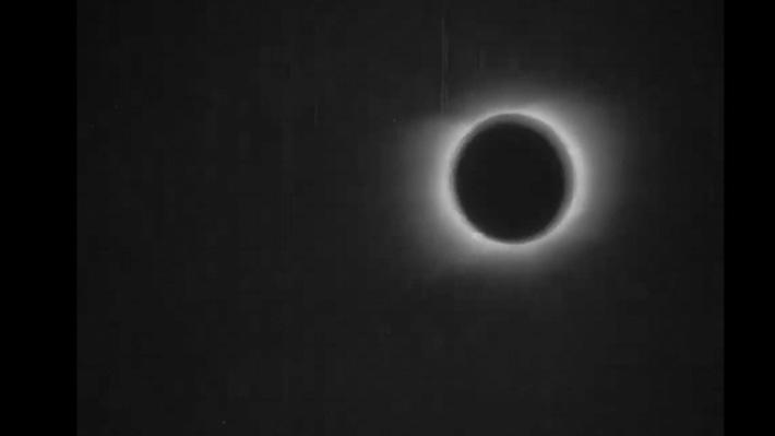 Así fue la primera filmación de un eclipse solar hecha en 1900