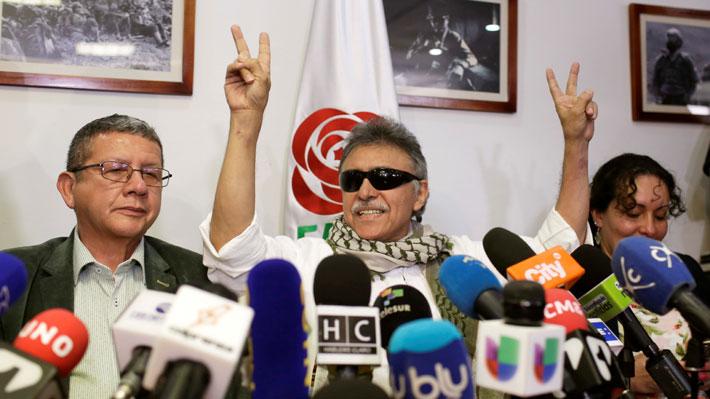 Ex líder de las FARC requerido por EE.UU. deja la cárcel tras decisión de la Corte Suprema