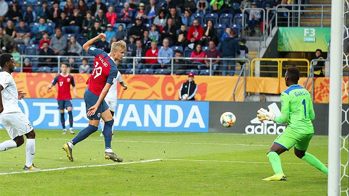 Revisa uno a uno los nueve tantos que convirtió el goleador de Noruega que hizo historia en el Mundial Sub 20
