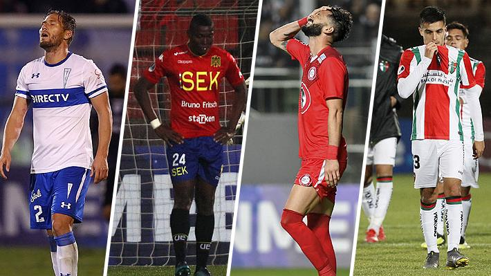 Somos los peores del continente: Chile es el único país sin equipos en los octavos de Libertadores o Sudamericana
