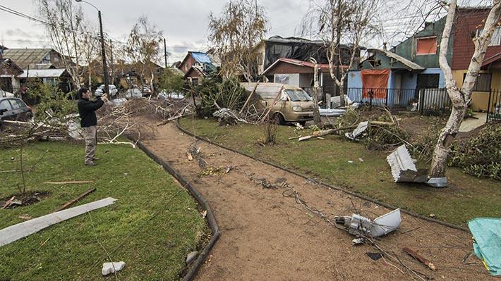 Galería: Fotos muestran los daños tras paso de tornado en Los Ángeles