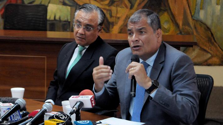Detienen en Ecuador a antiguos asesores del ex Presidente Rafael Correa por caso de corrupción