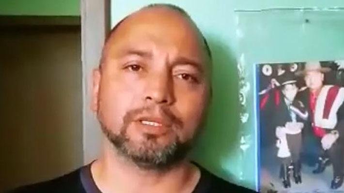 """Carabinero acusado de la muerte de Catrillanca: """"Me siento traicionado por mi institución"""""""