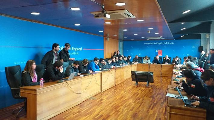 Tromba marina: Gobierno dice que habría cerca de 580 viviendas afectadas en Talcahuano y Concepción