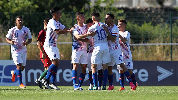 Chile se estrena en su regreso a Toulon venciendo a Portugal y mostrando buen fútbol
