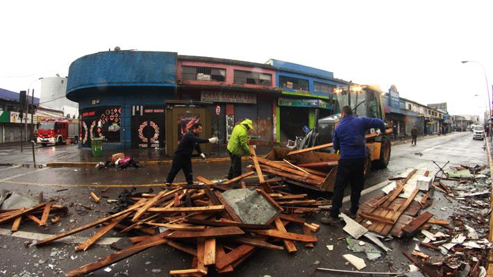 Empresa de agua potable adoptó medidas especiales para afectados por tornado y tromba marina