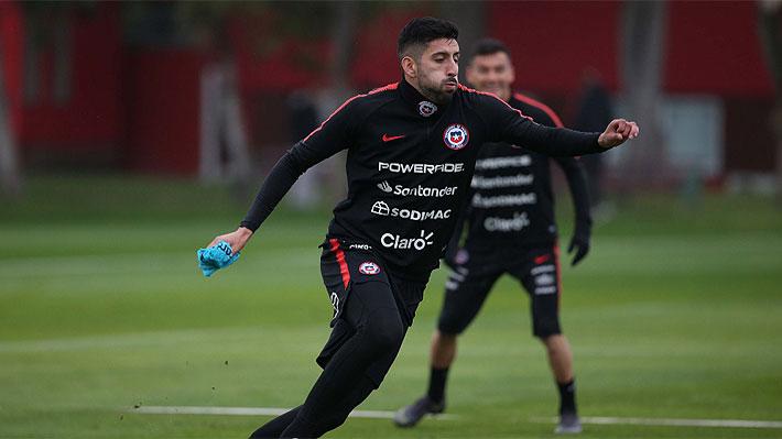 """Así formó la """"Roja"""" en el amistoso en que empató con Colo Colo en Pinto Durán"""