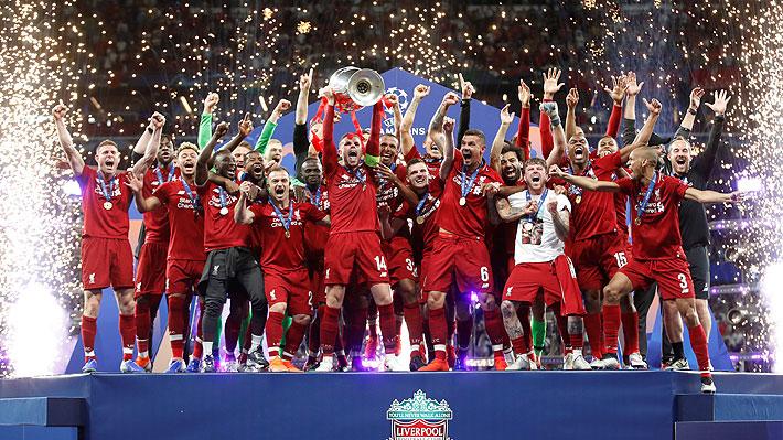 Liverpool vence a Tottenham y se proclama campeón de la Champions League luego de 14 años