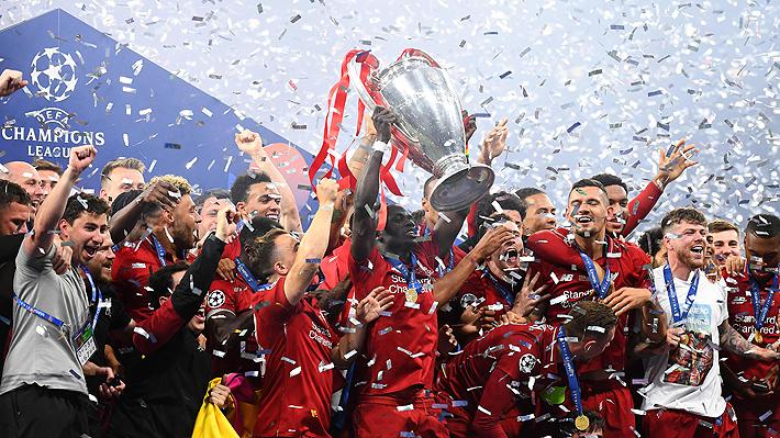 El capitán llorando y Klopp por los aires: Los festejos del Liverpool tras consagrarse en la Champions