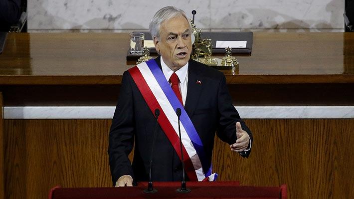 """Piñera sincera menor expectativa de crecimiento para 2019: """"Sin duda será un año más difícil"""""""