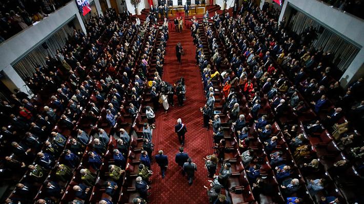 Las 5 menciones de Piñera al Gobierno anterior: Insiste en responsabilidad por crecimiento, apunta a educación y migrantes