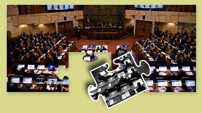Cómo se compara el número de parlamentarios en Chile con Latinoamérica y su evolución en 100 años