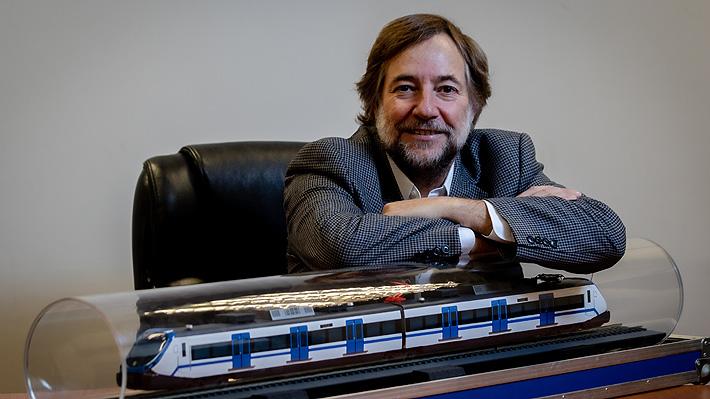 """Presidente de EFE por propuesta de TVS para tren Santiago-Valparaíso: """"Como está presentado, es inaceptable"""""""