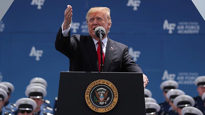 """Trump: """"México es un 'abusador' de Estados Unidos, siempre toma pero nunca da"""""""