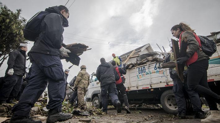 Gobierno despliega ayuda psicológica para afectados por tornados en el Biobío: Se ha atendido a un total de 359 personas