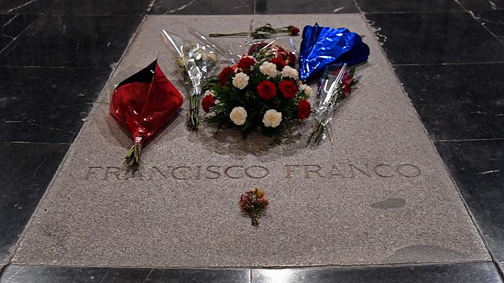 Justicia española suspende temporalmente la exhumación de los restos de Francisco Franco