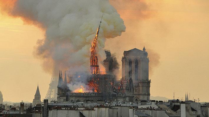 """Arquitecto encargado de Notre Dame aboga por reconstruir la aguja: """"Diré lo que tengo que decir y luego el gobierno decidirá"""""""