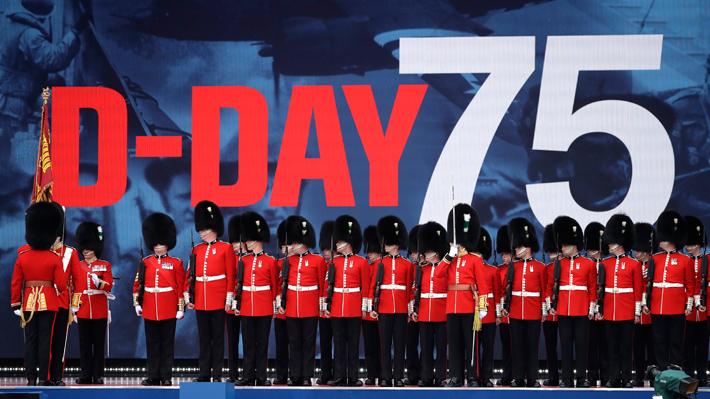 """Líderes mundiales y veteranos de guerra conmemoran en Portsmouth los 75 años del """"Día D"""""""