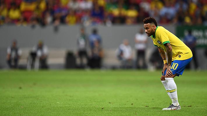 Duro golpe para Brasil: Neymar sufrió un esguince de tobillo y se perderá la Copa América