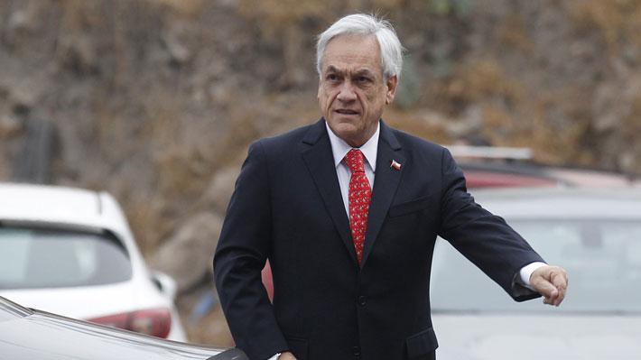 Piñera será representado por un abogado ante citación de Juzgado de Policía Local de Pucón por casa en Caburgua