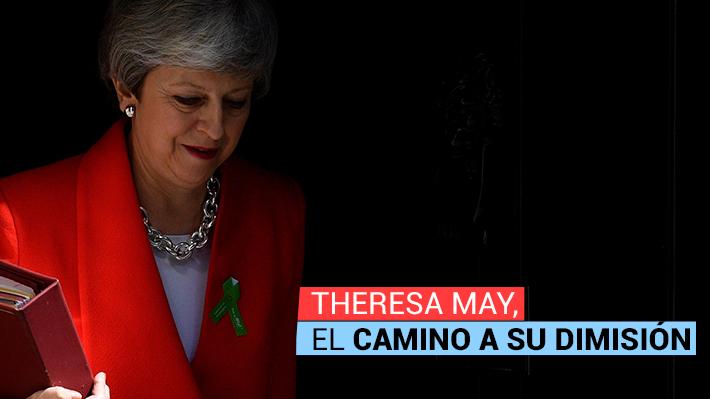 Cronología: Los eventos que marcaron el gobierno de Theresa May y que la llevaron a tomar la decisión de su salida