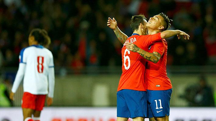 Chile se va a la Copa América ganando con goles de Vargas y Fuenzalida y con Rueda probando nombres