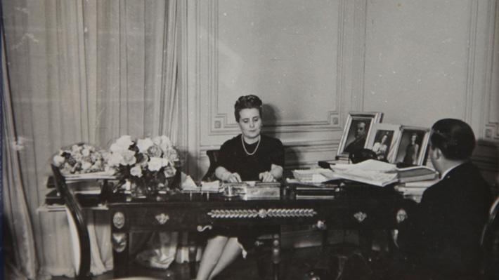 """Autora del libro sobre Rosa Markmann: """"González Videla reconoció que sin ella jamás hubiera llegado a la Presidencia"""""""