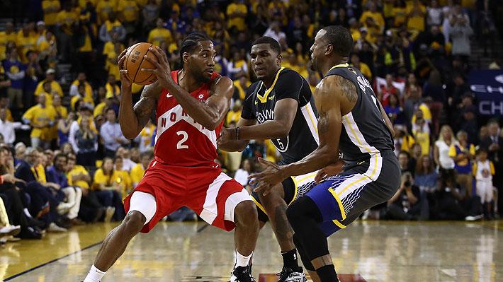 Toronto Raptors vuelve a derrotar a Golden State Warriors y queda a un triunfo de un histórico título en la NBA