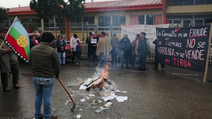 Comuneros protestan contra consulta indígena y obligan a interrumpir proceso en Cañete