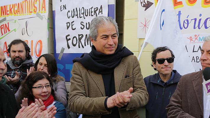 Colegio de Profesores hace positivo balance a casi una semana del paro y anuncia marcha a Valparaíso
