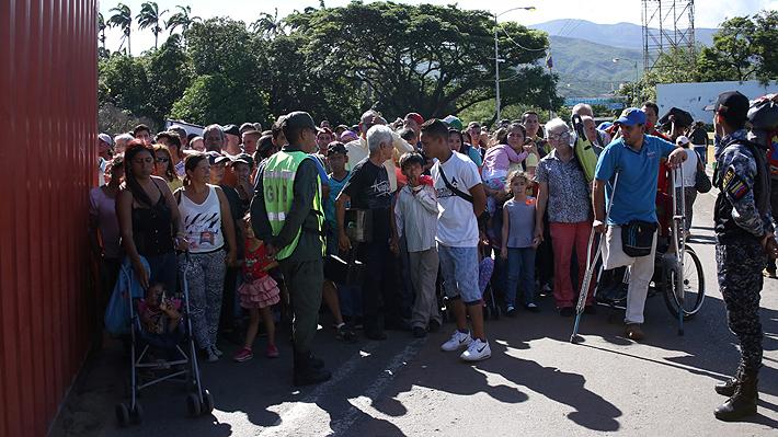 Al menos 18 mil venezolanos huyen hacia Colombia tras reapertura de la frontera en el estado de Táchira