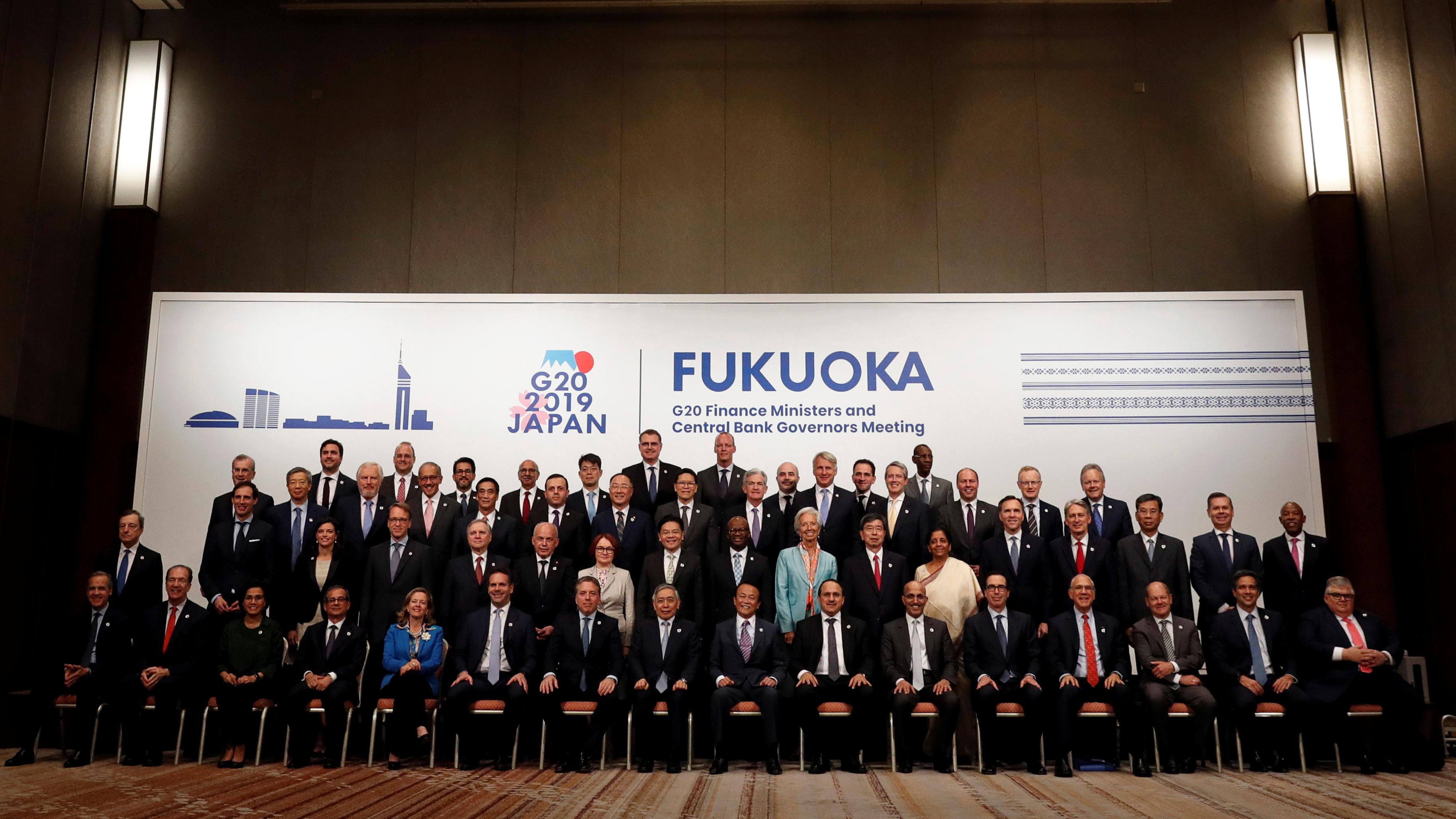"""G20 reconoce que tensiones comerciales se han """"intensificado"""" y plantea riesgos para la economía global"""