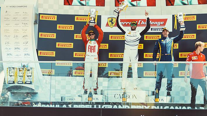 Benjamín Hites es segundo en Montreal en la antesala del GP de Fórmula Uno en Canadá
