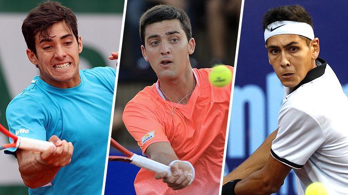 Tremenda semana: Cristian Garin, Tomás Barrios y Alejandro Tabilo alcanzaron el mejor ranking de sus carreras