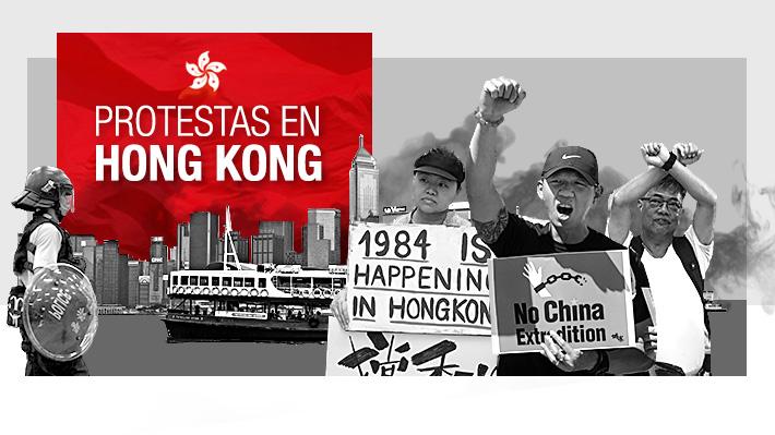 Claves: Por qué se están produciendo las protestas en Hong Kong y cuál es su relación con China