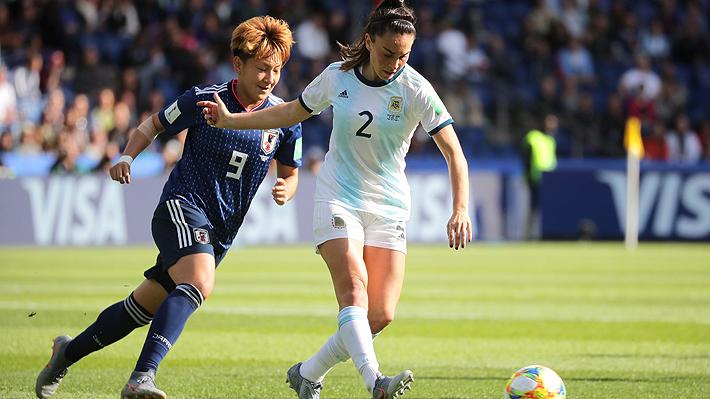 Argentina logró ante Japón un histórico punto en un Mundial de fútbol femenino