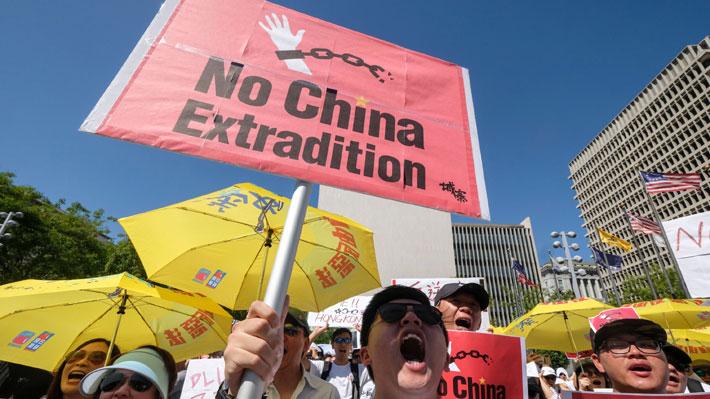 """EE.UU. manifiesta su """"preocupación"""" por proyecto de ley de Gobierno de Hong Kong para extraditar personas a China"""